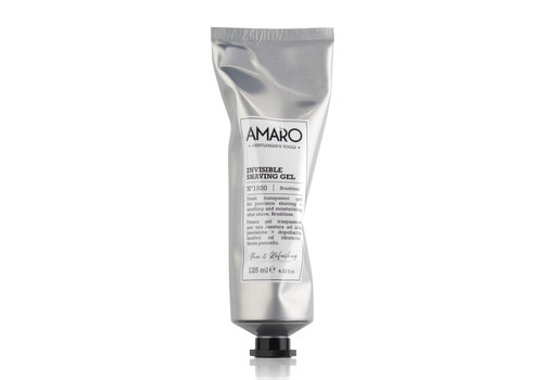 Amaro Amaro Invisible Shaving Gel 125ml