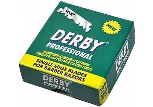 Eurostil Derby Platinum Razor Blades Green 100 stuks