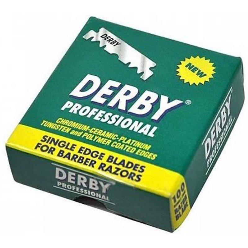 Derby Platinum Razor Blades Green 100 stuks