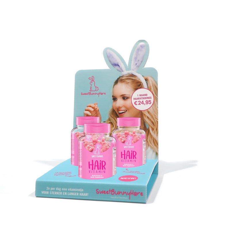 Sweet Bunny Haarvitamines 60 Stuks