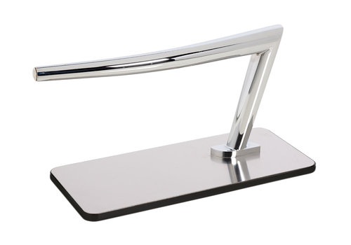 Salon Ambience SA Footrest Titanium Rounded Corners