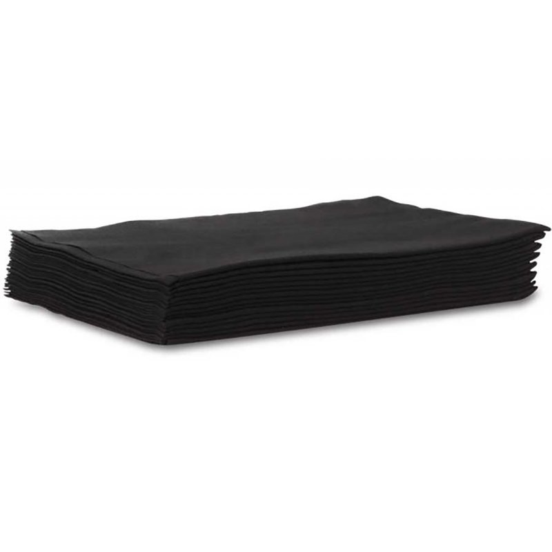 Profoil Wegwerp Handdoek Zwart 40x80cm 50 stuks