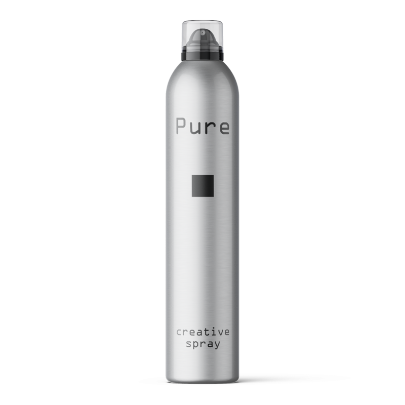 Pure Creative Spray: hairstyling voor kappers