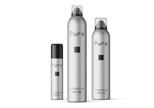 Pure Pure Creative Spray: hairstyling voor kappers