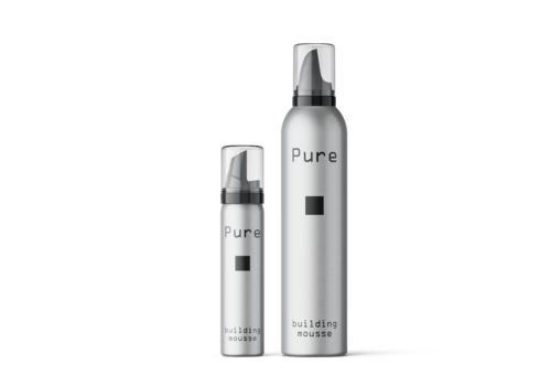 Pure Pure Building Mousse: hairstyling voor kappers