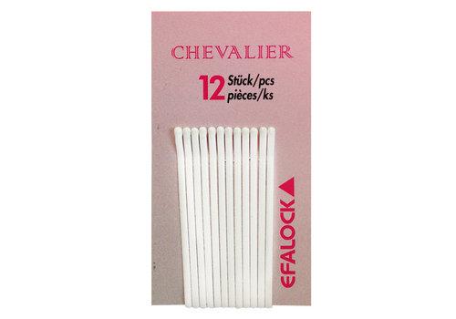 Efalock Efalock Chevalier Haarklemmen Wit 5cm 12st