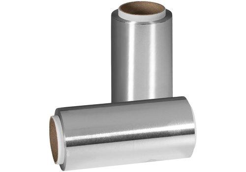 Nebur Alufolie 12 cm  - 20 my- 50 meter Zilver Per Rol Nebur