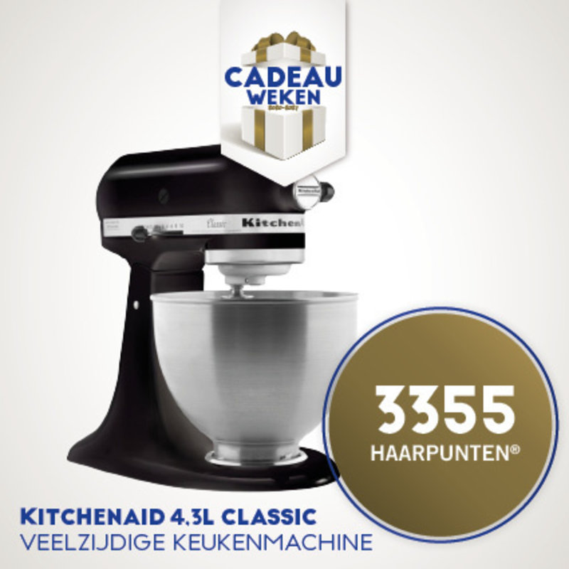 3355 HP | Kitchenaid Keukenmachine