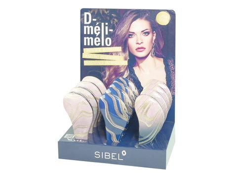 Sinelco Sibel D-Meli-Melo Dripping in Gold Ontwarborstel