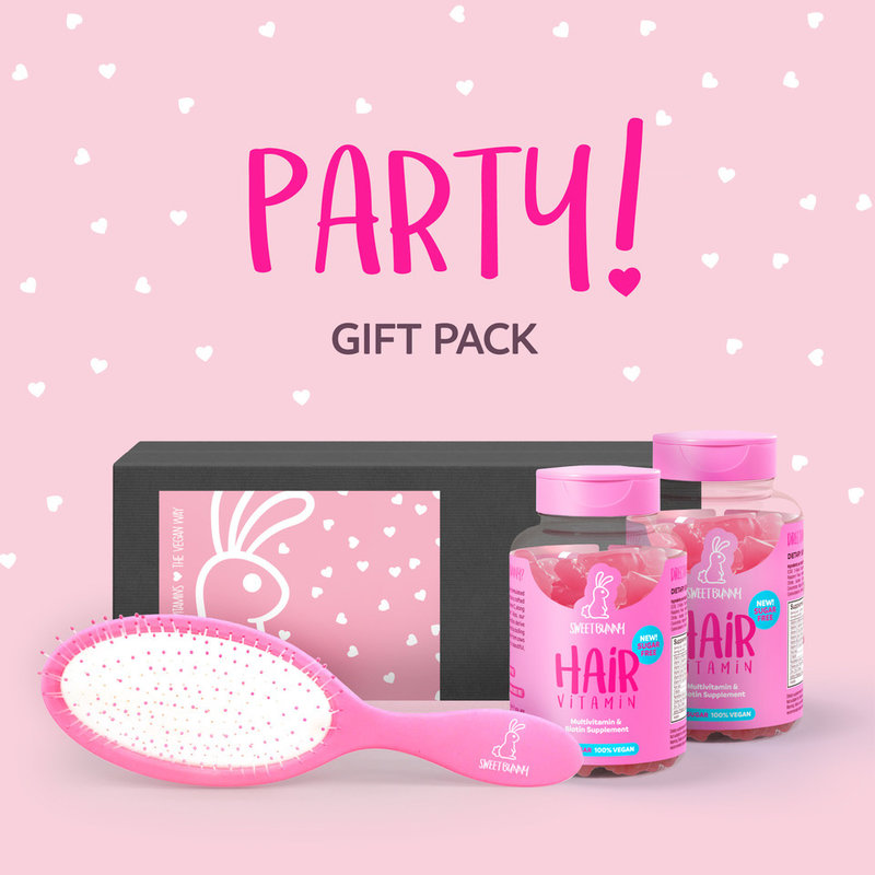 Sweet Bunny Hair Vitamin2months Partypack