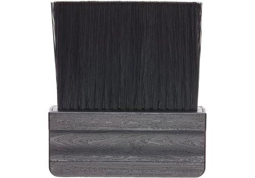 Efalock Efalock Nekkwast Hout Synthetisch Haar Zwart