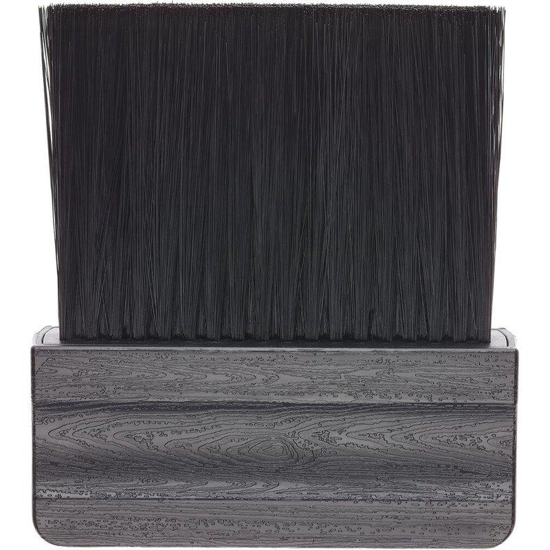 Efalock Nekkwast Hout Synthetisch Haar Zwart