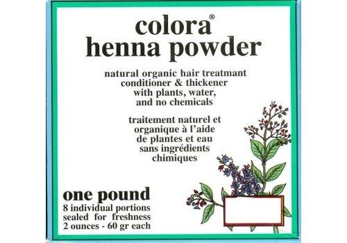 Colora Henna Kleurpoeder Economy Pack 8x60g