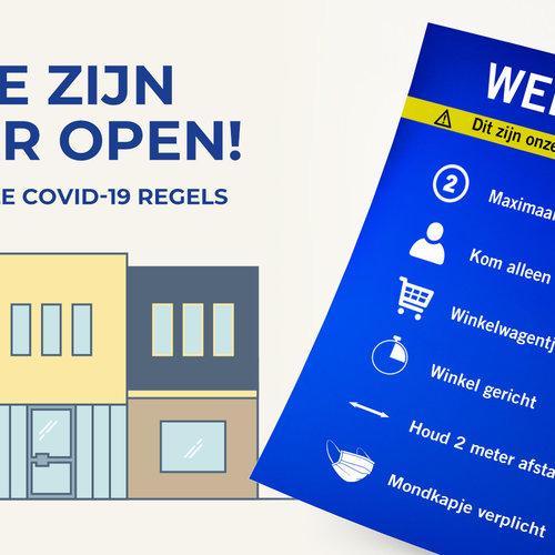 Onze winkel is weer open!