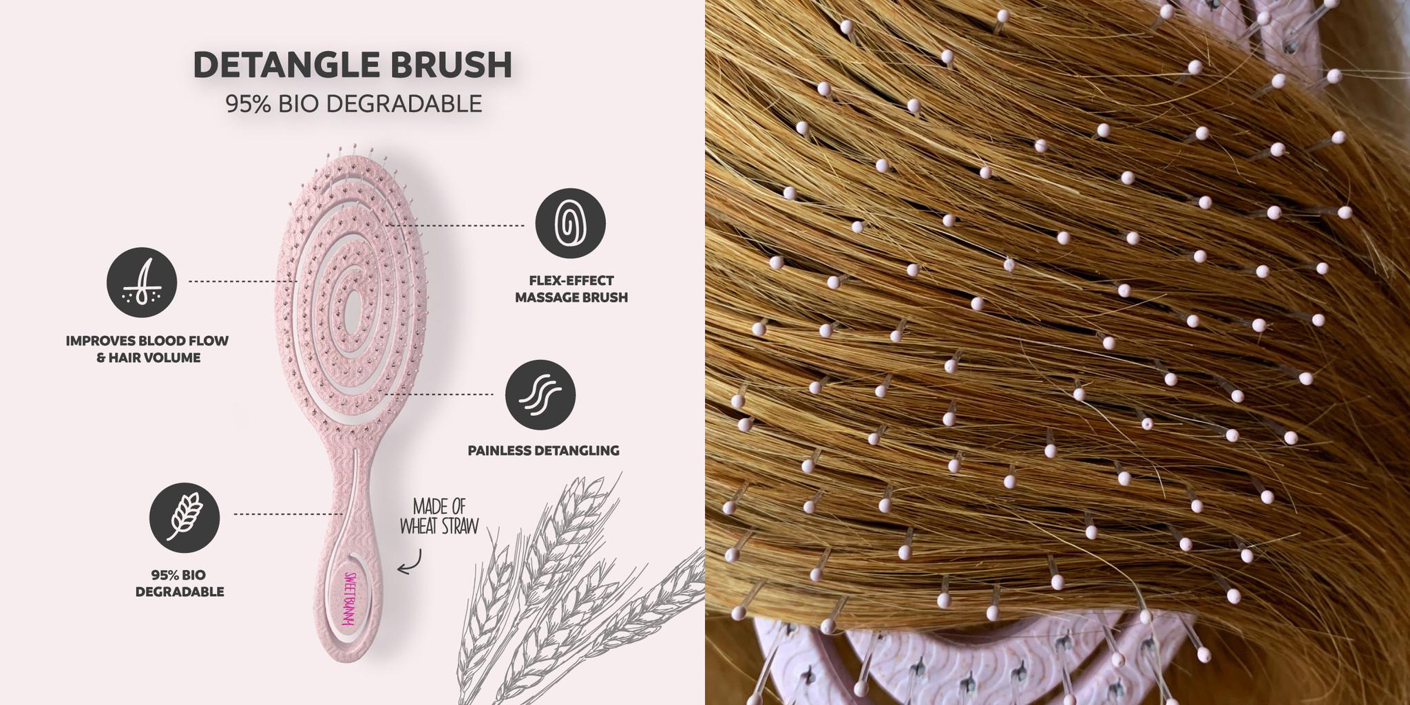 Sweet Bunny Eco Brush: de duurzame ontwarborstel