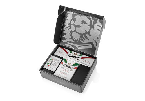 Proraso Proraso Wit Giftbox 2-delig Scheercreme + After Shave Balm