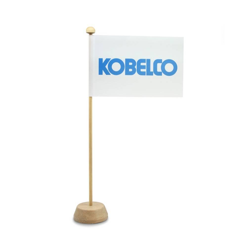 Tafelvlag met logo