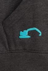 Männer Zip Up Sweatshirt Small