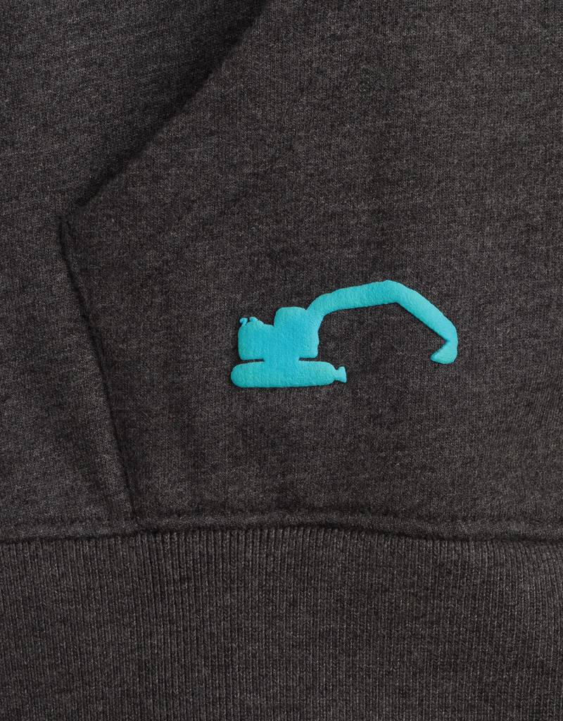 Heren sweater met rits klein