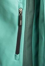 Grüne Softshell x Klein