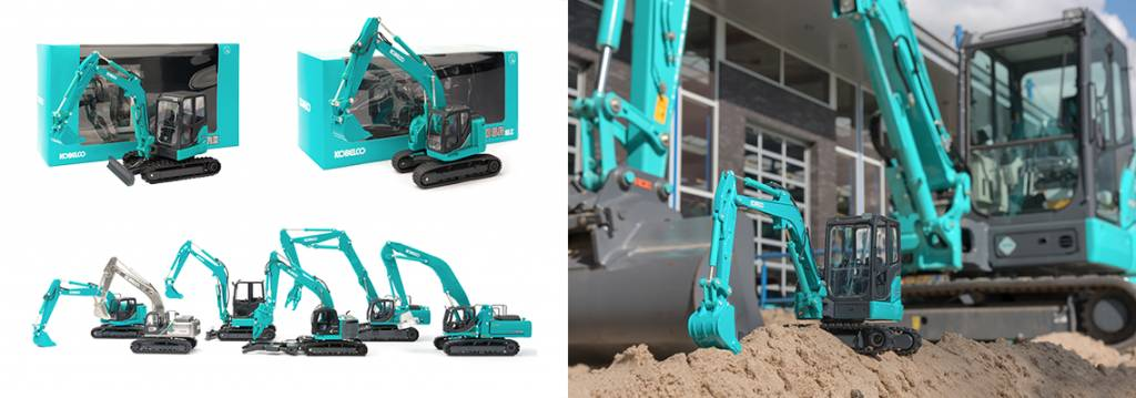 Welcome to Kobelco Scale Model Blog