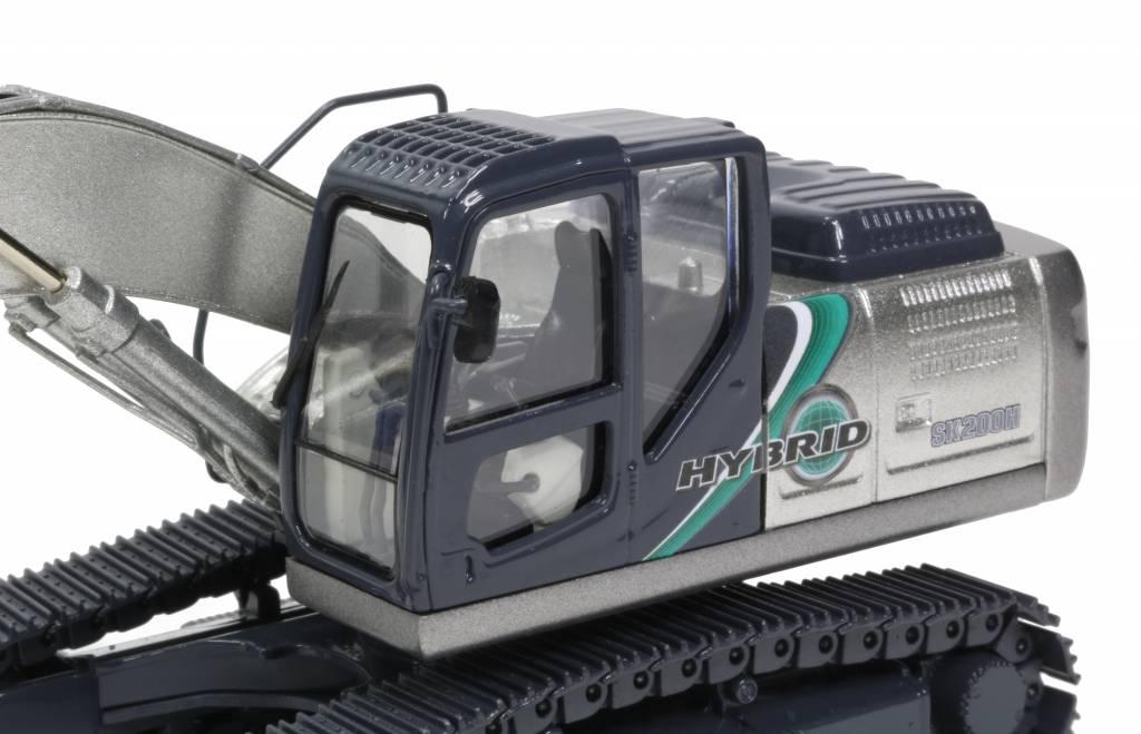 Motorart Kobelco Schaalmodel SK200H-10 Zilver