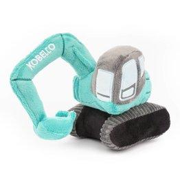 Modellino di escavatore giocattolo morbido