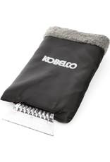 Raschietto per ghiaccio Kobelco con protezione per le mani