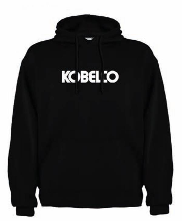 Kobelco Black Hoody