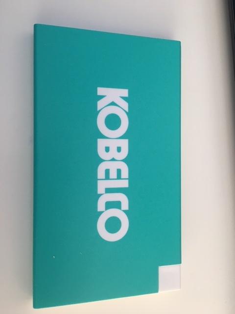 Kobelco Logo Powerbank
