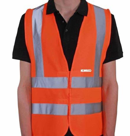 Orange Hi Vis Sicherheitsweste