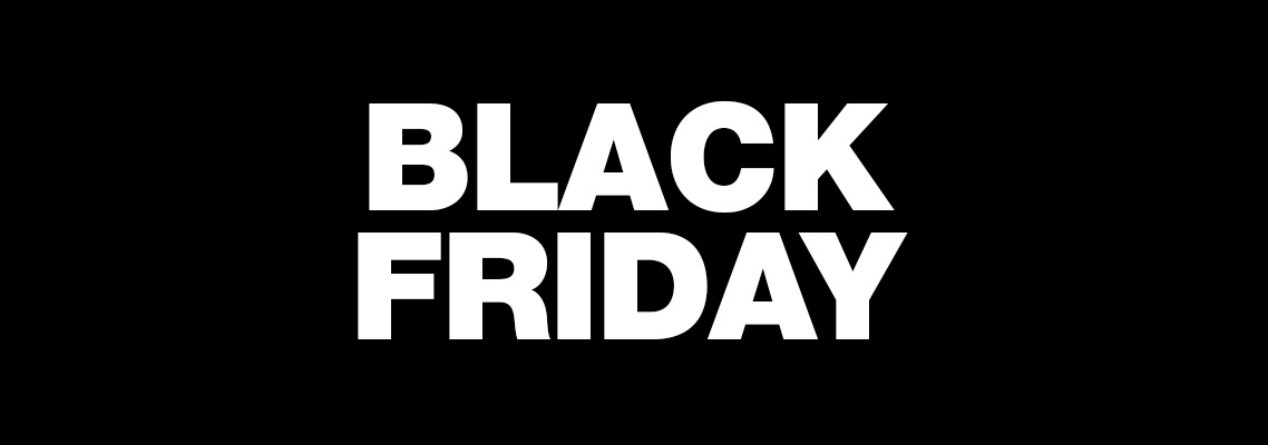 Black Friday Sale  20th November