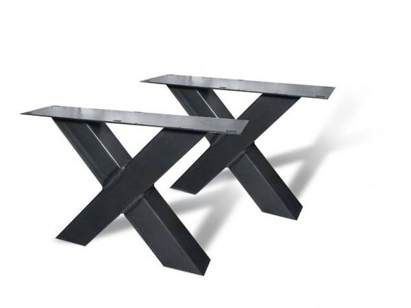 Tafel X Poot Staal.De Webshop Voor Industriele Stalen Poten Onderstellen