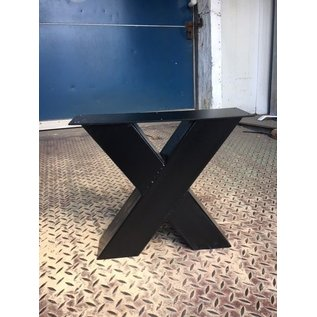 Budget X-poot salontafel