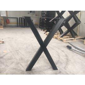 X-poot bartafel(zwart fijnstructuur)