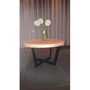 Stalen frame salontafel