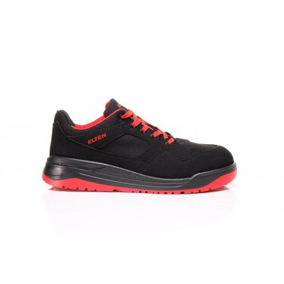 Elten  Maverick black red low esd S3