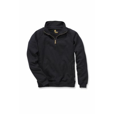 Carhartt werkkleding Quarter-zip mock-neck sweater