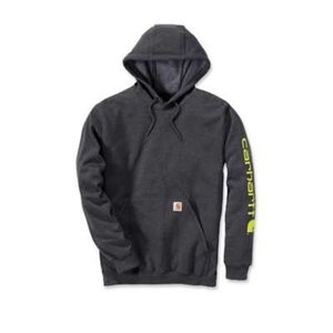 Carhartt werkkleding Midweight sleeve logo hooded sweater