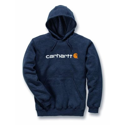 Carhartt werkkleding Fleece signature logo hooded sweatshirt