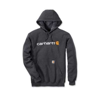 Carhartt werkkleding Signature logo hooded sweatshirt