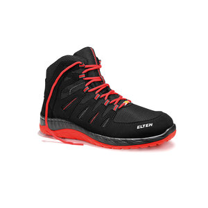 Elten  Maddox black-red mid esd s3