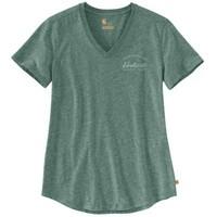Carhartt workwear  Lockhart Graphic V-Neck T-Shirt