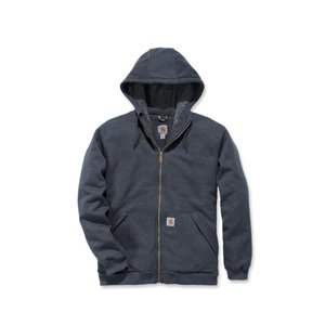 Carhartt werkkleding Fleece sherpa-lined zip hooded sweatshirt