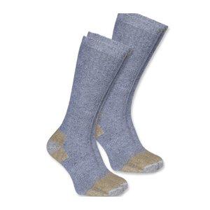 Carhartt werkkleding Steel toe work boot sock 2-pack