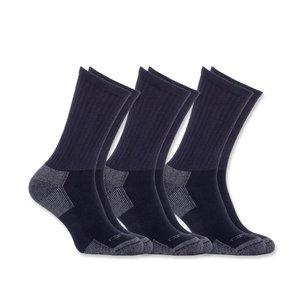 Carhartt workwear  All-season cotton sock 3-pack