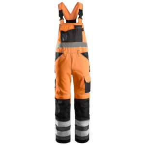 Snickers Werkkleding Bib & Brace High Visibility