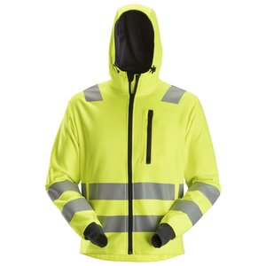 Snickers Workwear AllroundWork, High-Vis Hoodie met Rits klasse 3