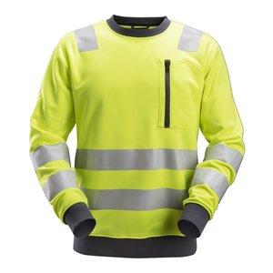 Snickers Workwear AllroundWork, High-Vis Sweatshirt Klasse 2-3