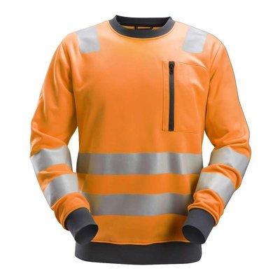 Snickers Workwear AllroundWork, High-Vis Sweatshirt Klasse 2- 3